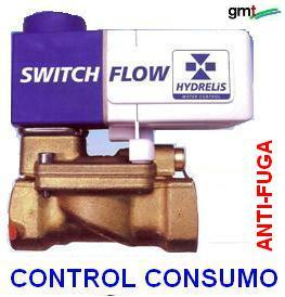 valvula switch-flow ANTI-FUGAS y CONSUMO AGUA HY gimateg