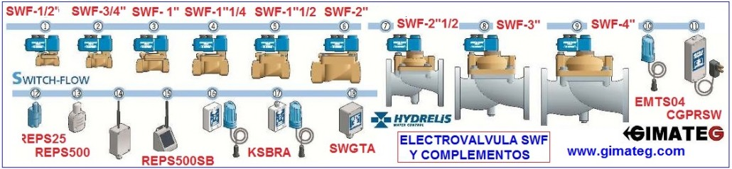 GAMA valvulas switch-flow ANTI-FUGAS AGUA HY gimateg